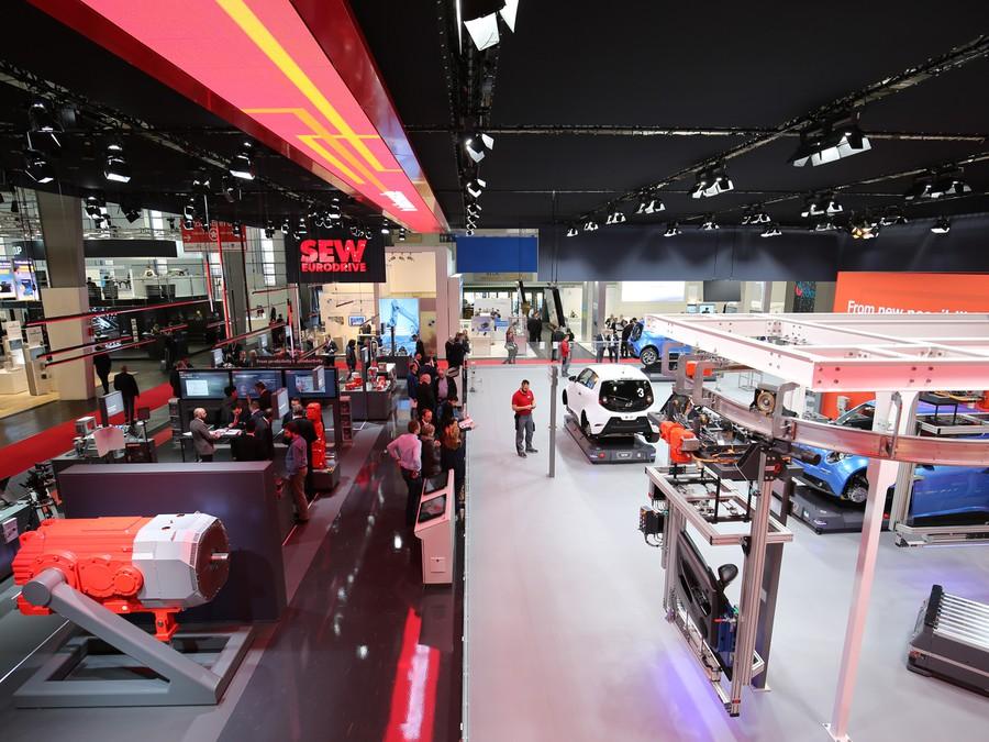 SEW-EURODRIVE представила возможности MAXOLUTION® Factory Automation