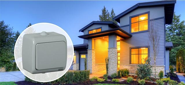 Электроустановочные изделия серии AQUATIC IEK® — высокая степень защиты IP54 и практичное цветовое решение для открытой установки