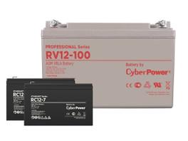 Аккумуляторные батареи CyberPower — теперь и в России