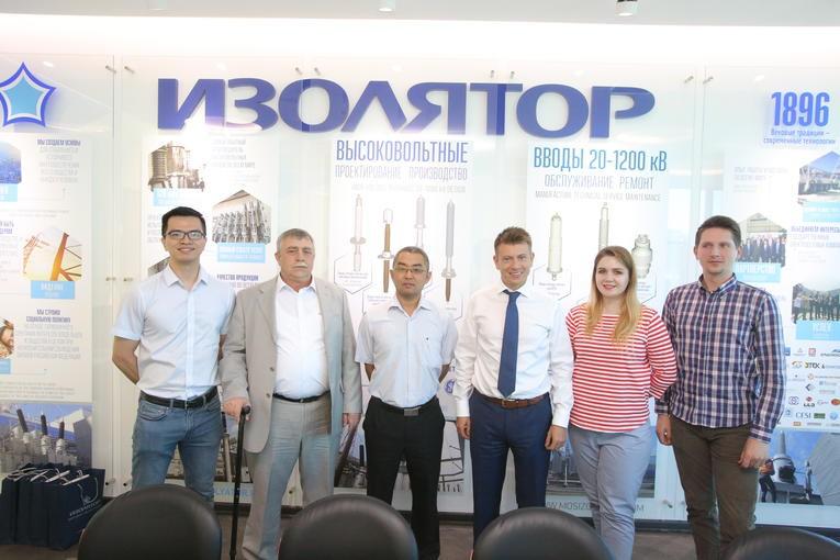 В компании «Изолятор» прошла инспекция вводов, изготовленных по заказу China XD Group