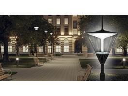 Новый проект «Световых Технологий» — парковые светильники APEX LED