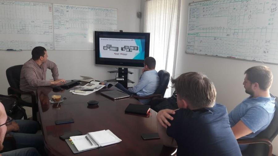 Были проведены совместные презентации и переговоры в сетевых компаниях, проектных организациях, промышленных компаниях Кузбасса