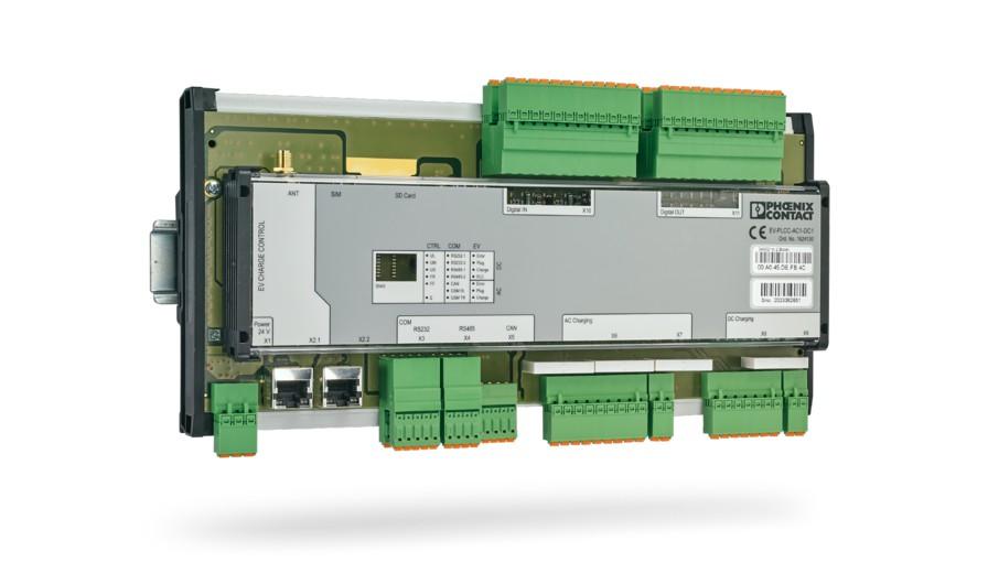 Phoenix Contact представляет EV Charge Control Professional — контроллер зарядки постоянным током