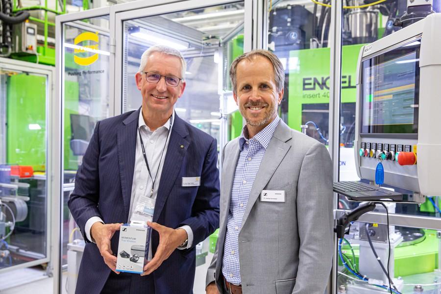 Volker Franke (слева) и Andreas Sennheiser