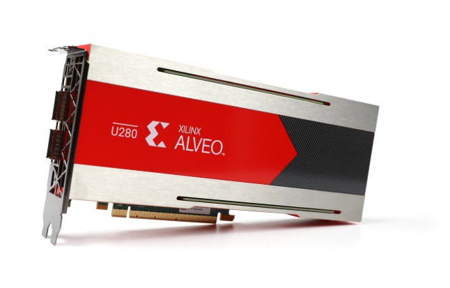 Новые ускорительные платы Alveo U280 для ЦОД от Xilinx