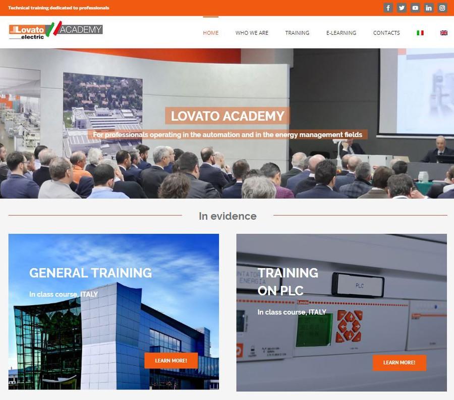 LOVATO Electric представляет новый сайт для обучения