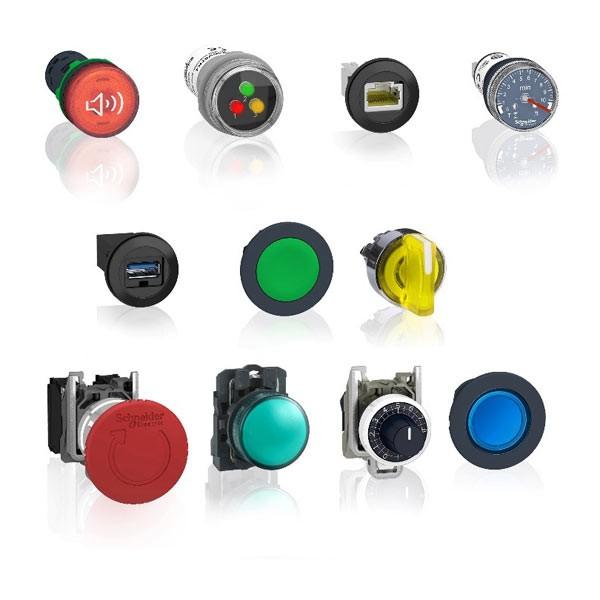 Schneider Electric расширяет линейку кнопок, выключателей и сигнальных ламп Harmony