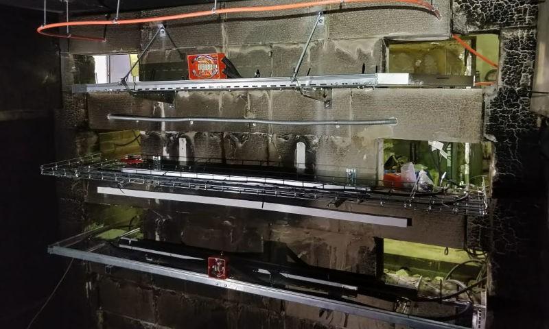 Кабеленесущие системы EKF успешно прошли сертификацию в составе огнестойких кабельных линий