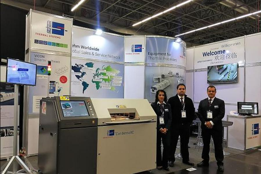 Rehm Thermal Systems примет участие в трёх международных выставках