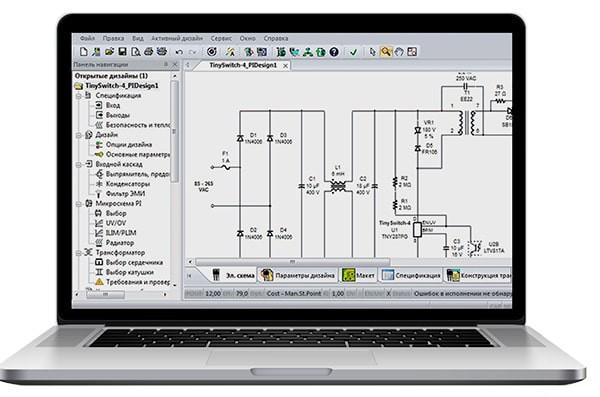 Пакет PI Expert Suite от Power Integrations обновился до версии 10.1