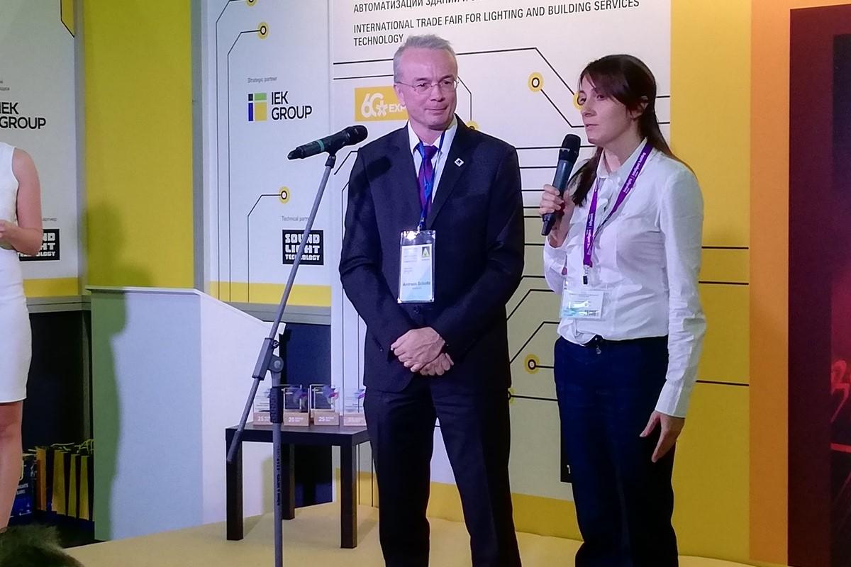 председатель международной электротехнической комиссии Андреас Шольц