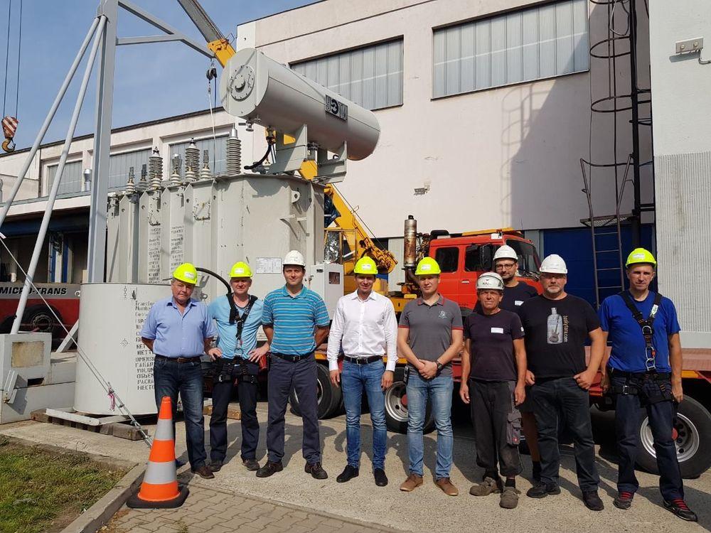 Испытания трансформатора «Уралэлектротяжмаш» в KEMA Laboratories Prague в Чехии