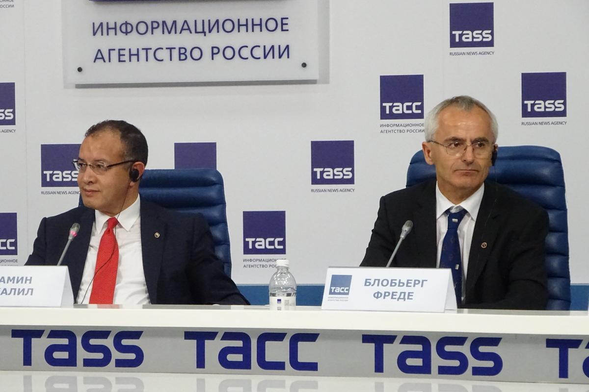 Пресс-конференция лауреатов «Глобальной энергии»