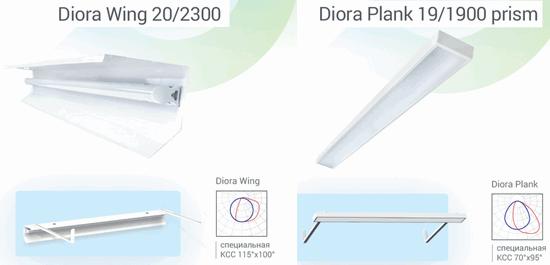 Diora расширяет ассортимент светильников для школы