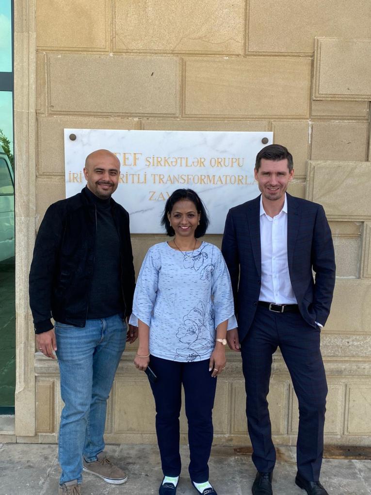 Представитель завода «Изолятор» побывал в Баку на встрече с руководством группы компаний АТЕF