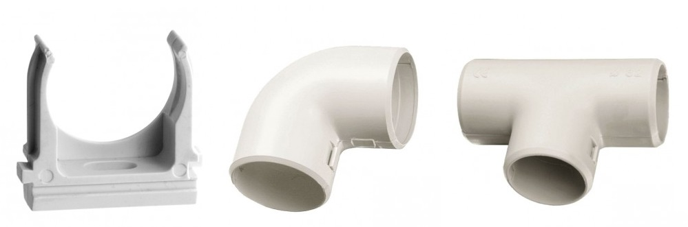 Аксессуары для труб и металлорукавов от EKF