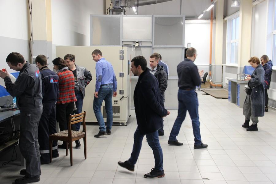 Ознакомление с техническим оснащением лаборатории входного контроля