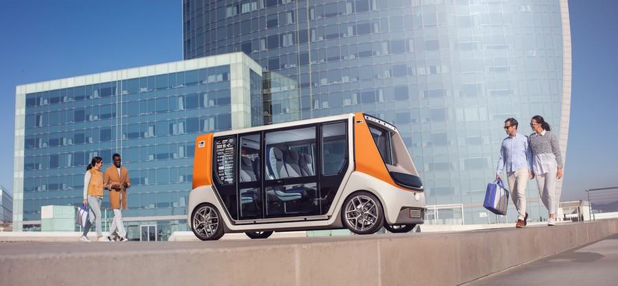 HARTING обеспечит новый концепт-кар metroSNAP специальными Technology Group соединениями