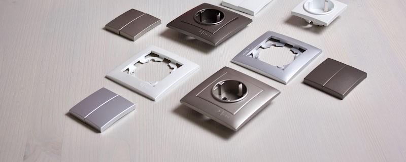 36 цветовых сочетаний для уникального дизайна с новыми электроустановочными изделиями «Валенсия» от EKF