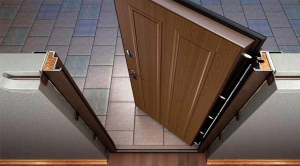 Качественный уплотнитель для металлических дверей