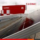 Первая установка солнечных преобразователей EOS от ДКС